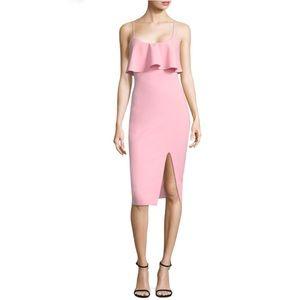 LIKELY Dionne Sleeveless Ruffle Dress